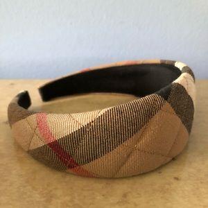 Burberry Quilted Nova Check Headband